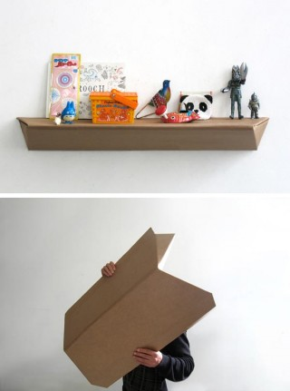 estanteria de carton diy 2