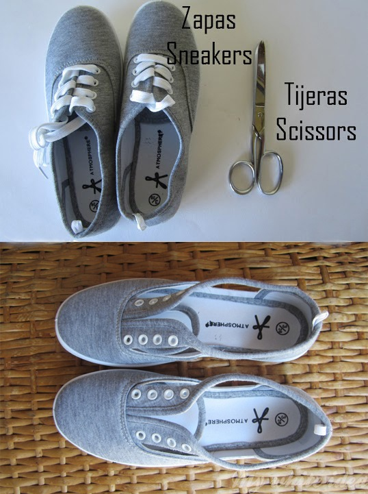 Originales zapatillas recortadas