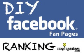 DIY FACEBOOK RANKING (AUGUST 2013)