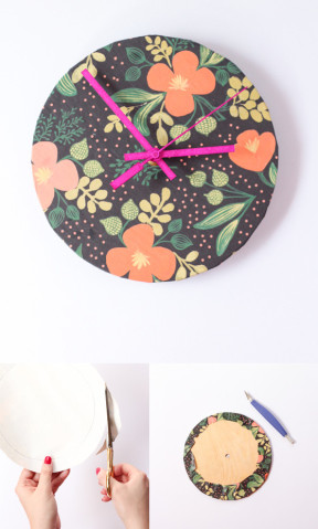 Reloj DIY de pared
