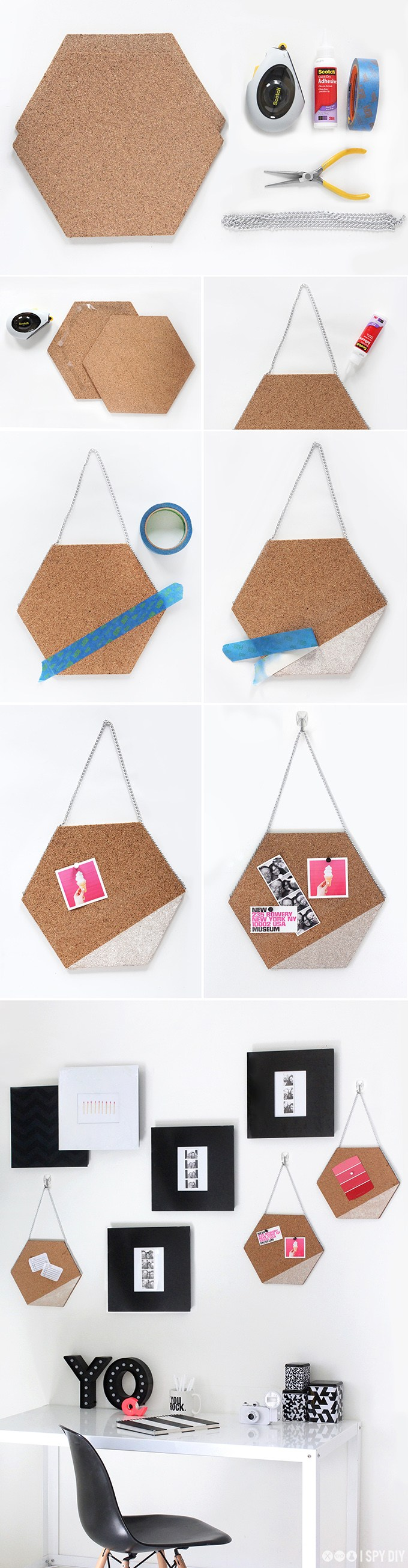 tablon hexagonos ispydiy muy ingenioso 2