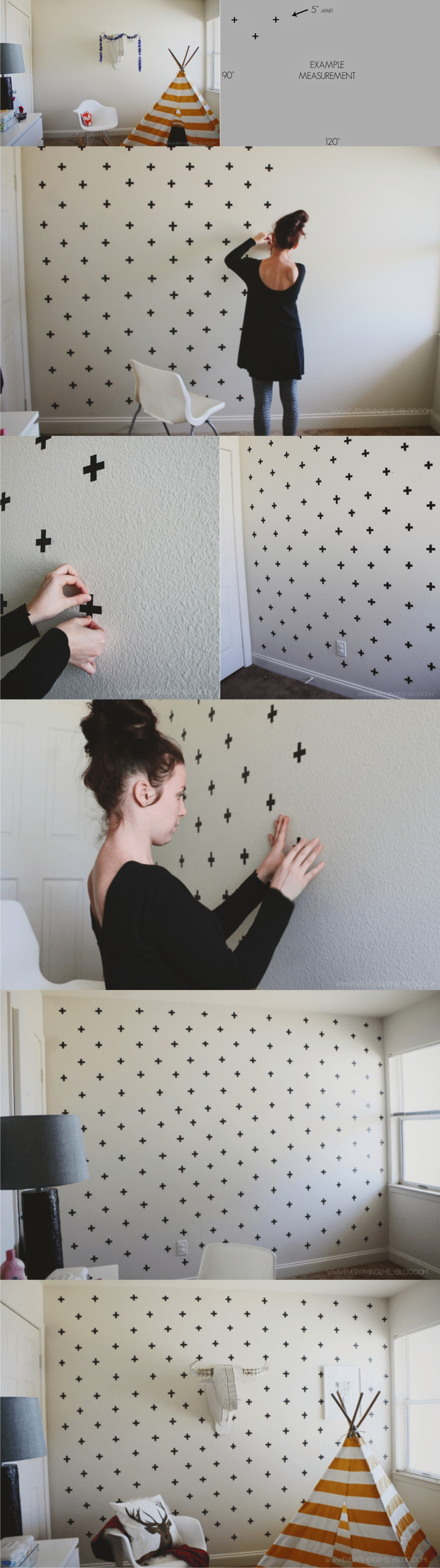wallart washitape DIY muy ingenioso 2