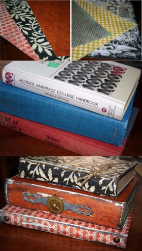 TRANSFORMA LIBROS EN DECORACIÓN VINTAGE