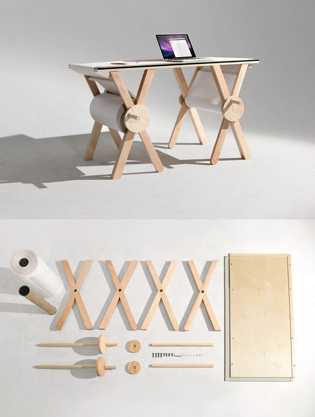 Escritorio 'Analog Memory Desk'