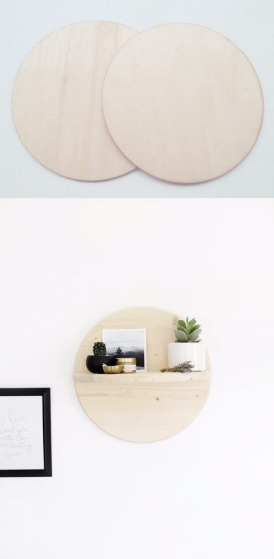 Estante decorativo DIY